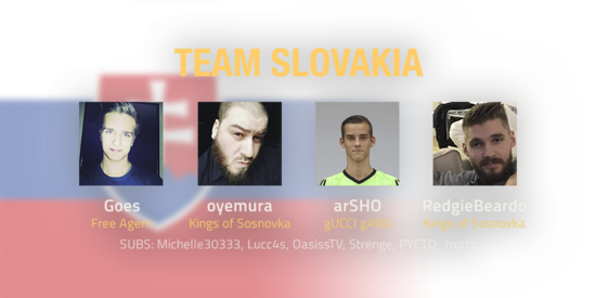 Team Slovakia 2018 Roster