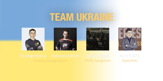 Team Ukraine 2018 Roster