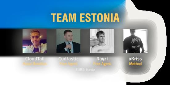 Team Estonia 2018 Roster