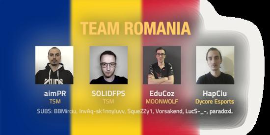 Team Romania 2018 Roster