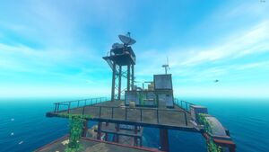 Radio tower - Official Raft Wiki