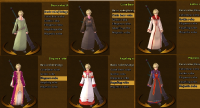 Guild robe options in RO2.