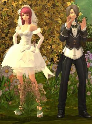 Ragnarok Online 2 Wedding Dress