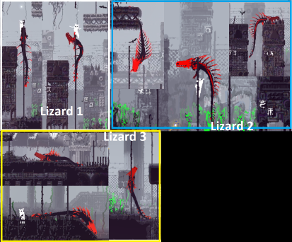 Three Red Lizard Variants.png