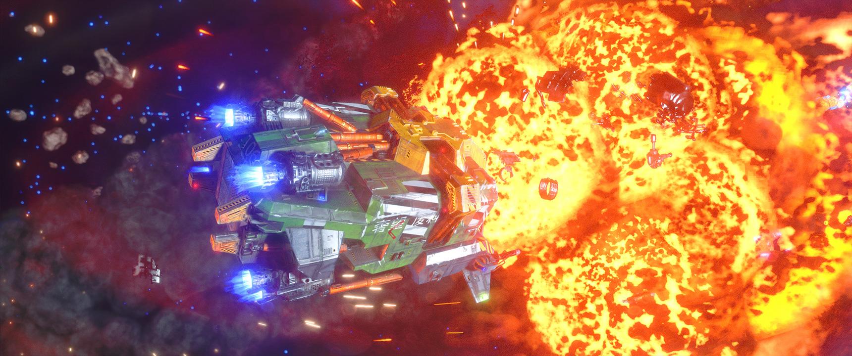 Rebel Galaxy Outlaw Steam