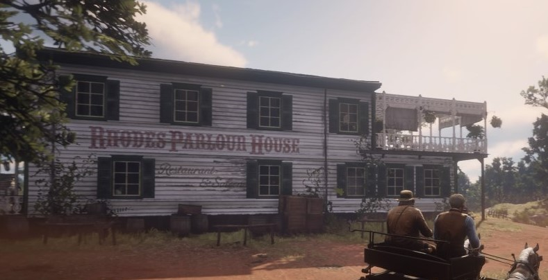 Rhodes Parlour House Red Dead Redemption 2 Wiki
