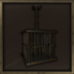 Small Iron Hanging Cage