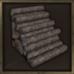 Log Stairs