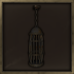 Large Iron Hanging Cage