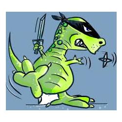 File:Ninja Dinosaurslogo square png - Rocket League Esports Wiki