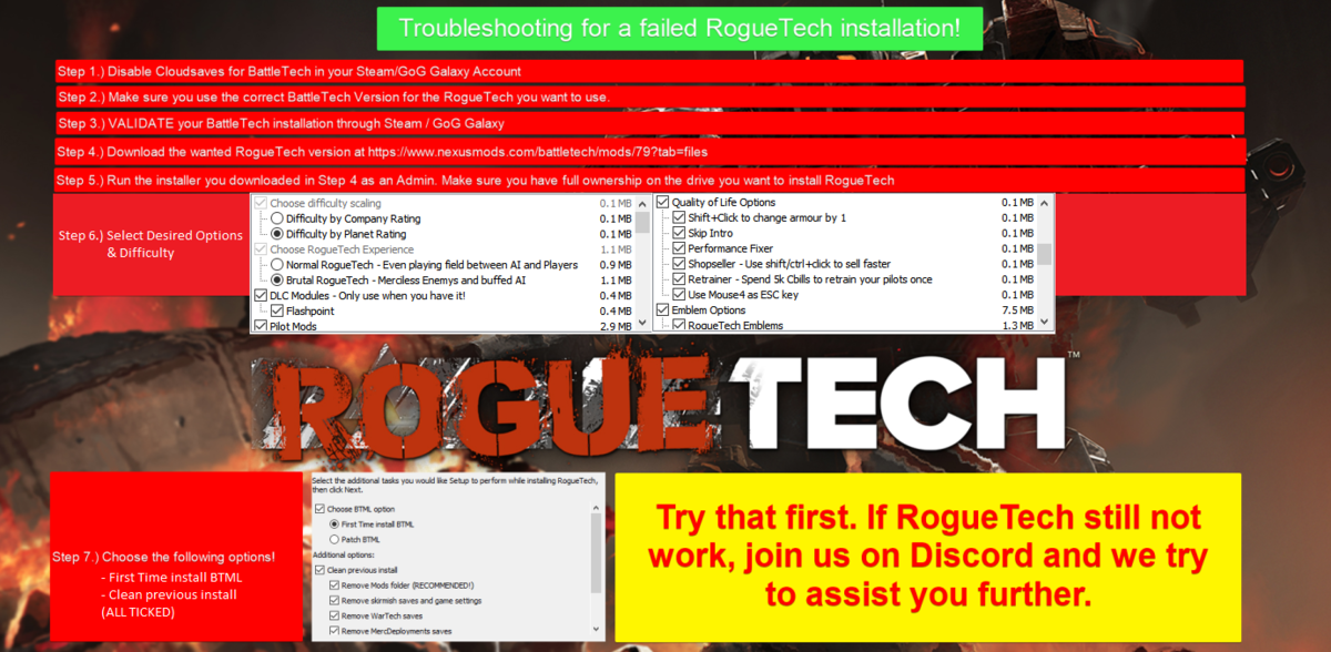 Installation - Official Roguetech Wiki