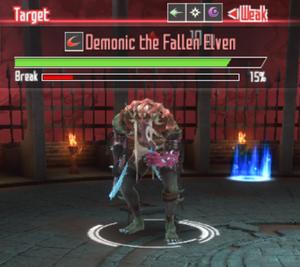 Demonic The Fallen Elven Sword Art Online Integral Factor Wiki