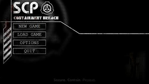 Main Menu - Official SCP - Containment Breach Wiki