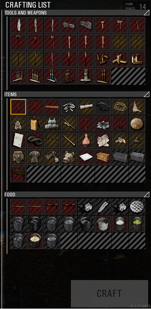 Crafting - Official Scum Wiki