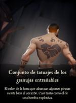 Conjunto de tatuajes de los granujas entrañables.png