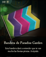 Bandera de Paradise Garden.png