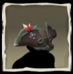 Sombrero de Lobo de Mar corsario carmesí inv.png