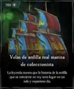 Velas de ardilla real marina de coleccionista.png