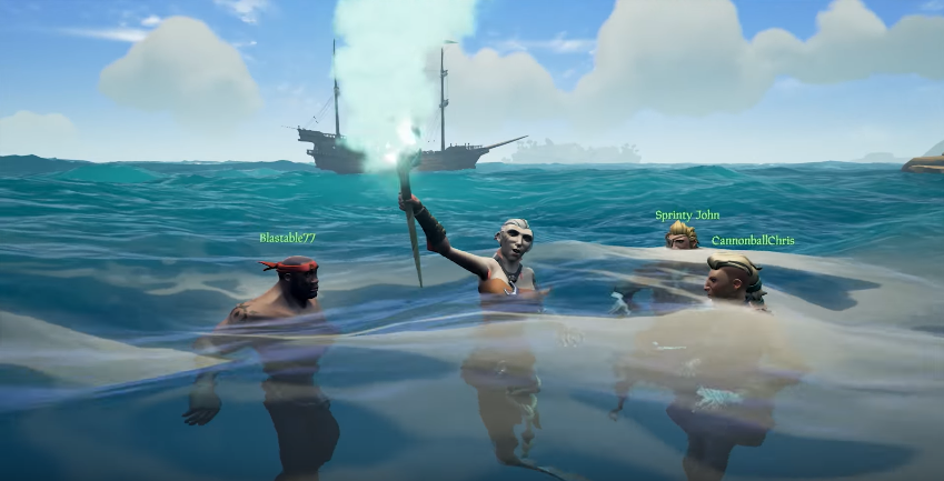 Mermaid Sea Of Thieves Wiki