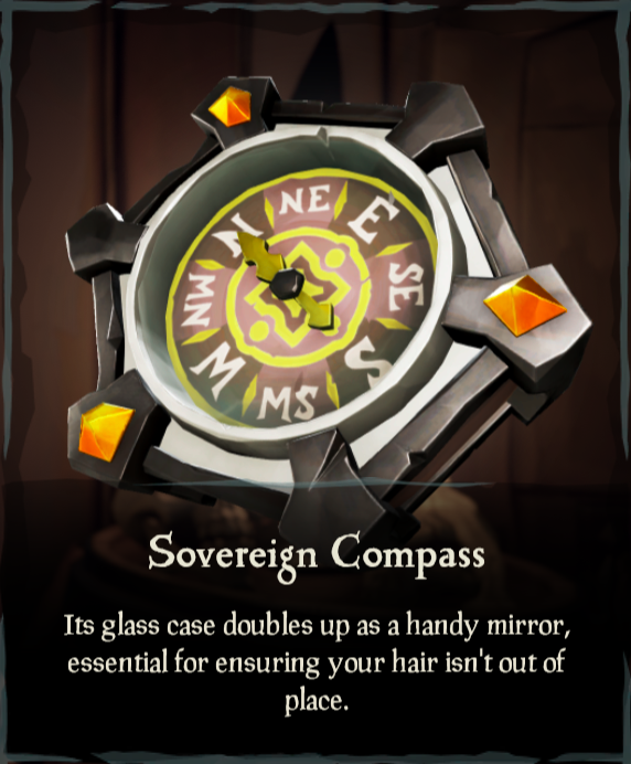 Sovereign Compass - Sea of Thieves Wiki