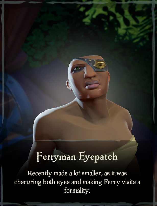 Ferryman Eyepatch - Sea of Thieves Wiki