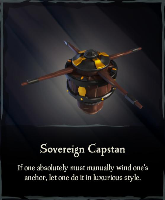 Sovereign Capstan - Sea of Thieves Wiki