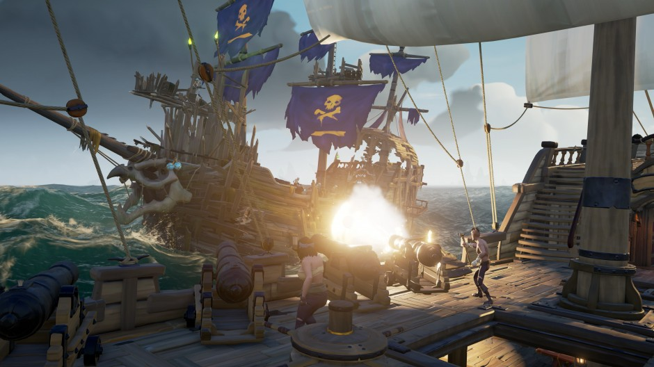 Skeleton Ship - Sea of Thieves Wiki