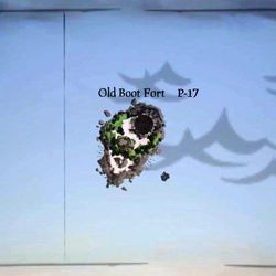 Sea of Thieves map 0019 P17 Old Boot Fort.jpg