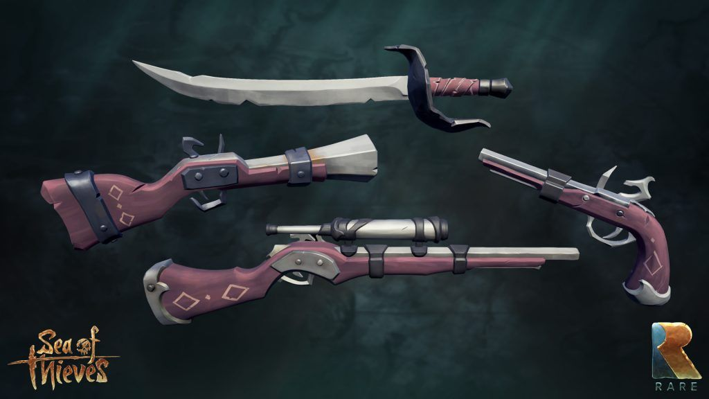 Weapons - Sea of Thieves Wiki