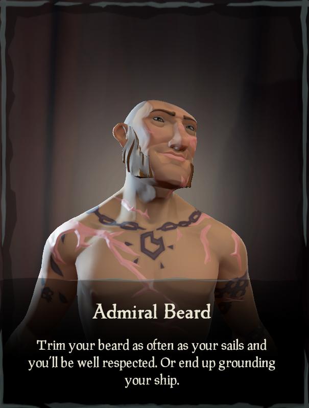 Admiral Beard - Sea of Thieves Wiki