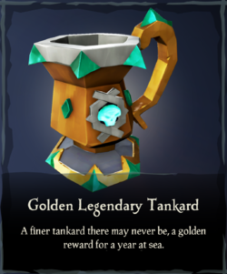 Golden Legendary Tankard - Sea of Thieves Wiki