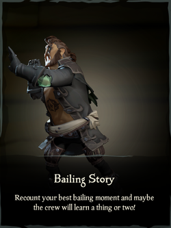 Bailing Story Emote.png