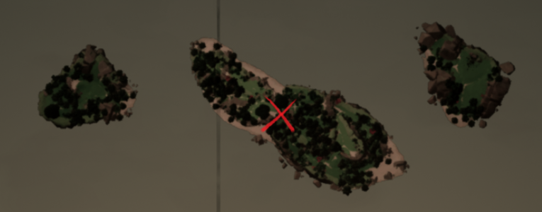 Endless Lizard on the map