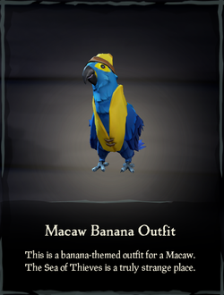 Macaw Banana Outfit.png