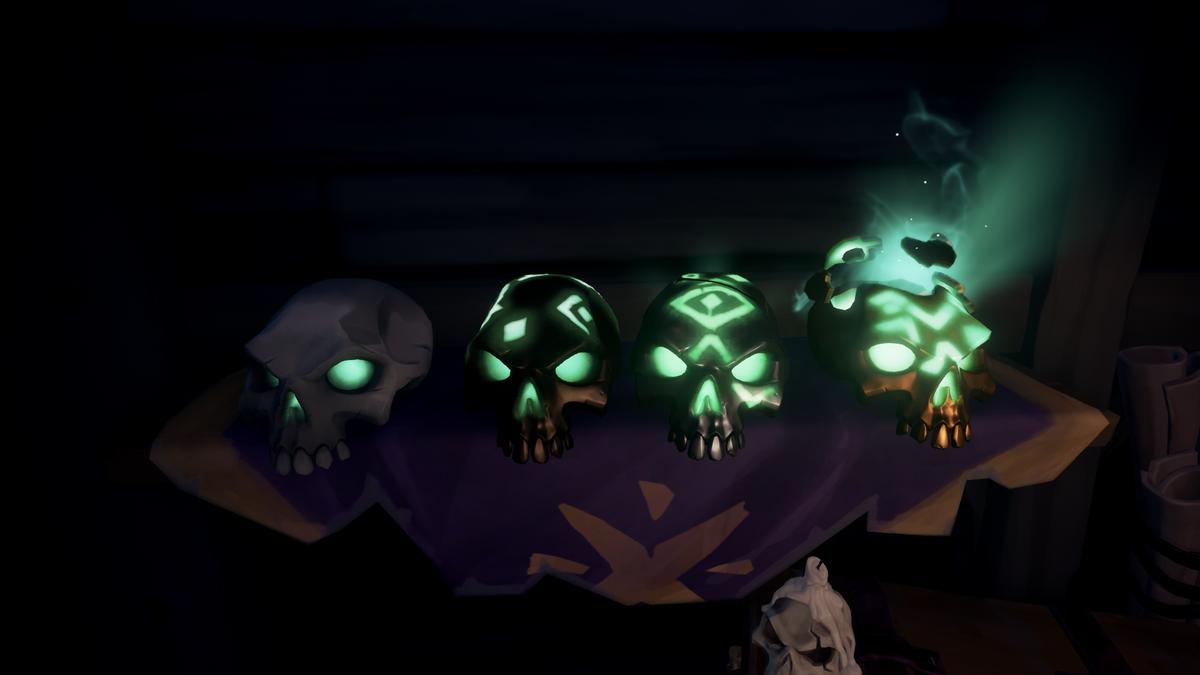 Bounty Skulls - Sea of Thieves Wiki