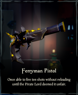 Ferryman Pistol - Sea of Thieves Wiki