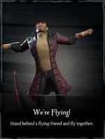 We're Flying! Emote.png