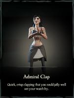 Admiral Clap Emote.png