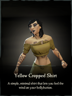 Yellow Cropped Shirt.png