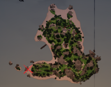 Duelling Crabs on the map