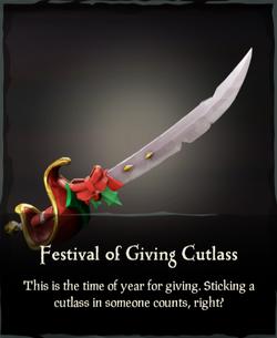 Festival of Giving Cutlass.png