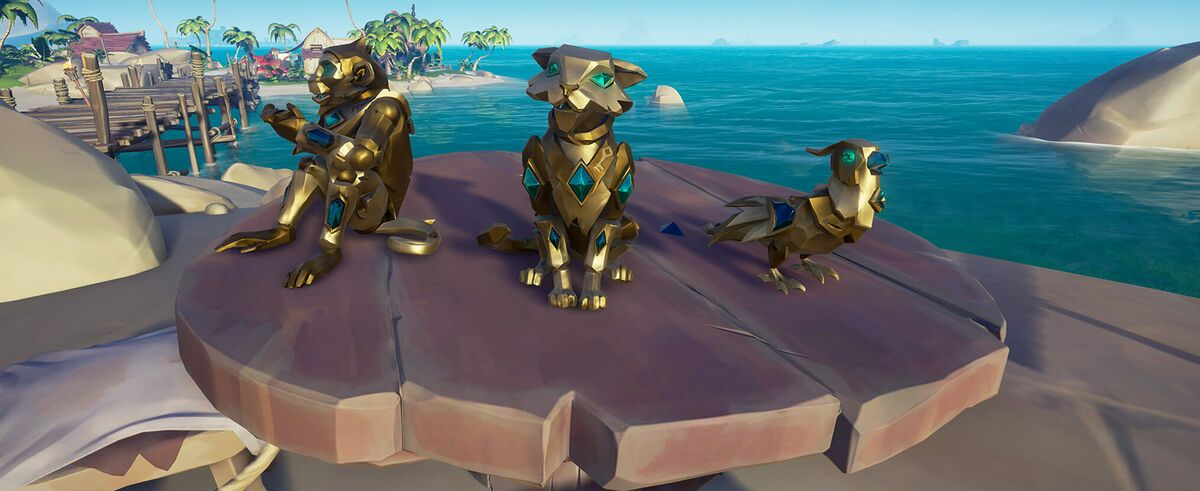 Collector S Pets Sea Of Thieves Wiki