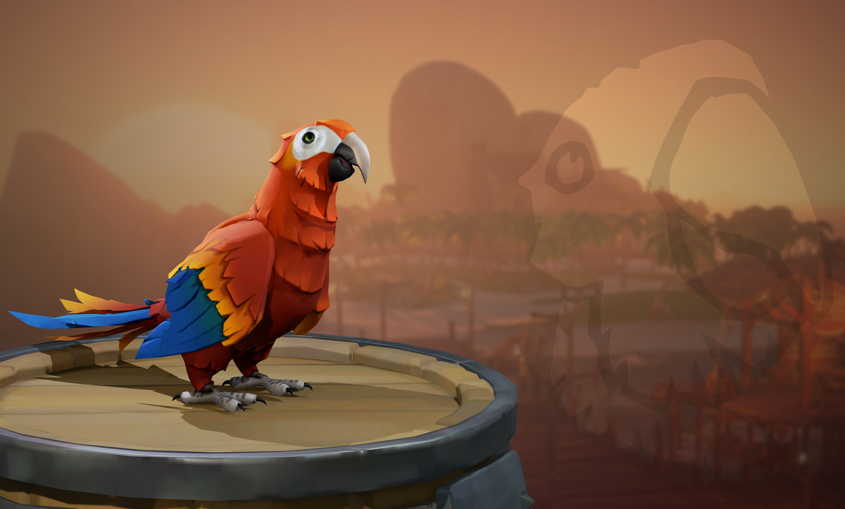 Parrots Sea Of Thieves Wiki