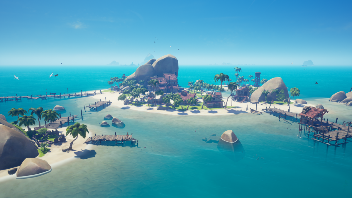Outposts - Sea of Thieves Wiki