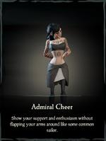 Admiral Cheer Emote.png