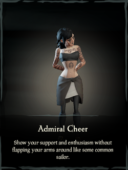 Admiral Cheer Emote.png