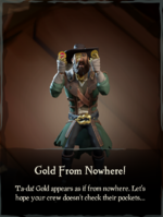 Gold from Nowhere! Emote.png