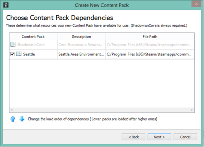 Creating a New Content Pack - Choosing Your Dependencies.PNG