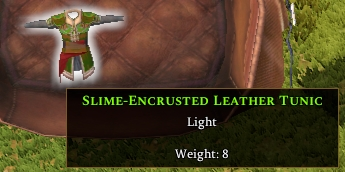 Slime-encrusted Leather Chest