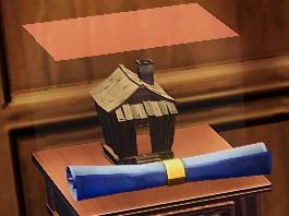 Wood House Blueprint